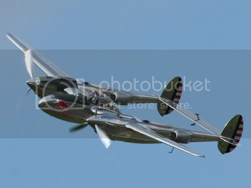 P38 Lightning der Flying Bulls  Foto: P. Radosta / Austrian Wings